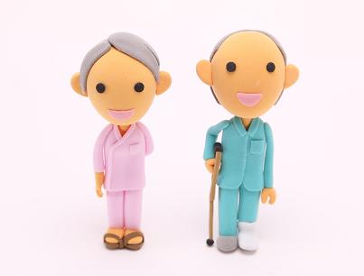 入院骨折夫婦